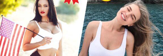 Сравнение стран, рейтинг девушки с самой большой грудью до 30 лет. Страны, где у женщин самые маленькие груди. Список, топ стран с самой большой грудью среди девушек и женщин до 30. На какой позиции в мире по размеру груди находятся девушки России и где большее число пышногрудых женщин среди стран СНГ